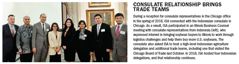 Consulate Relationship brings trade teams