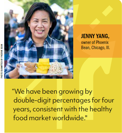 Jenny Yan, owner of Phoenix Bean, Chicago, Ill.