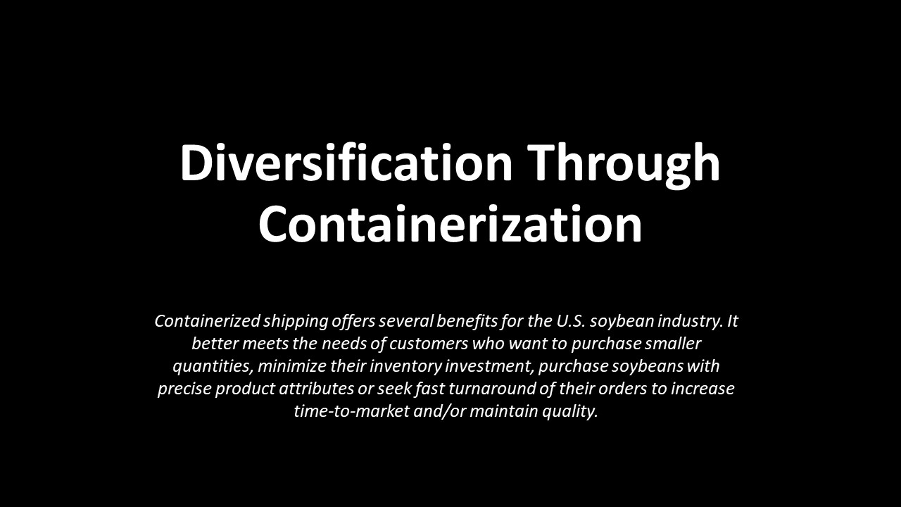 Diversification Through Containerization